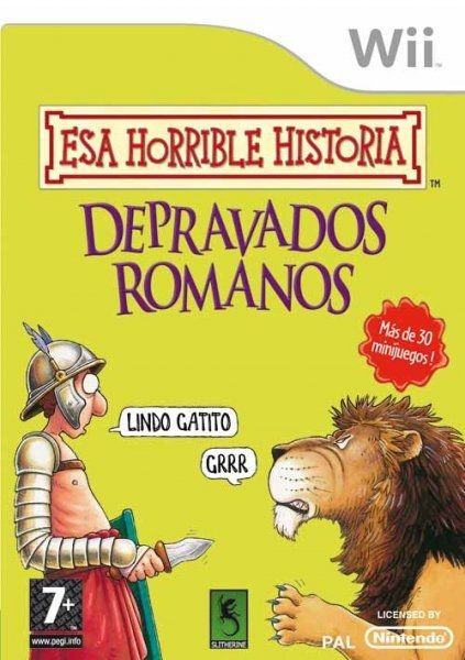 Esa Horrible Historia: Esos Depravados Romanos [Wii][PAL][Español][UK]