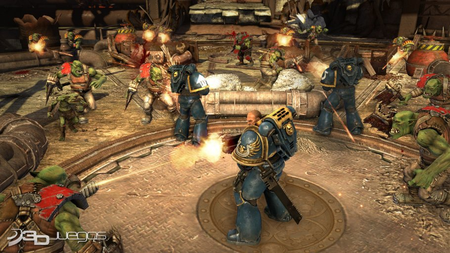 Warhammer 40K Space Marine - Impresiones Gamescom 2010