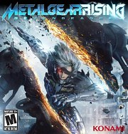 Cartula oficial de Metal Gear Rising: Revengeance PC