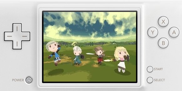 The 4 Heroes of Light (Nintendo DS)