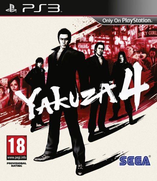 Descarga Yakuza 4 PS3
