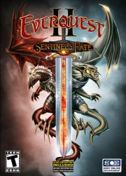 Car�tula oficial de EverQuest II: Sentinel's Fate PC