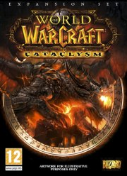 Car�tula oficial de World of Warcraft: Cataclysm PC