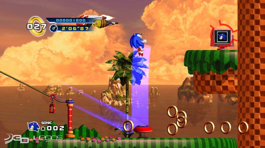 Sonic 4 Episode 1 - Primer contacto