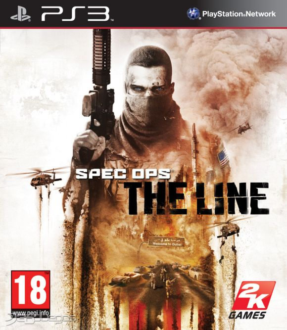 Car�tula de Spec Ops: The Line