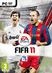 Car�tula oficial de FIFA 11 PC