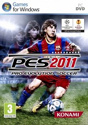 Car�tula oficial de PES 2011 PC