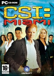 Car�tula oficial de CSI: Miami PC