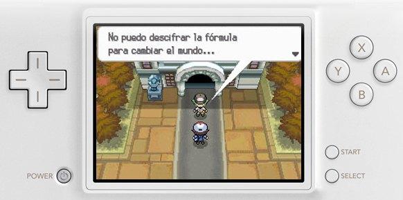 Pokémon Edición Blanca (Nintendo DS)