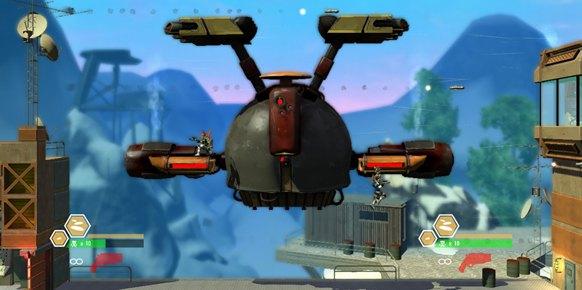 Bionic Commando Rearmed 2 (Xbox 360)
