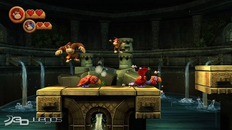 Donkey Kong Country Returns - Impresiones jugables
