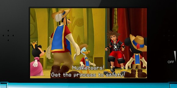 Kingdom Hearts 3D an�lisis