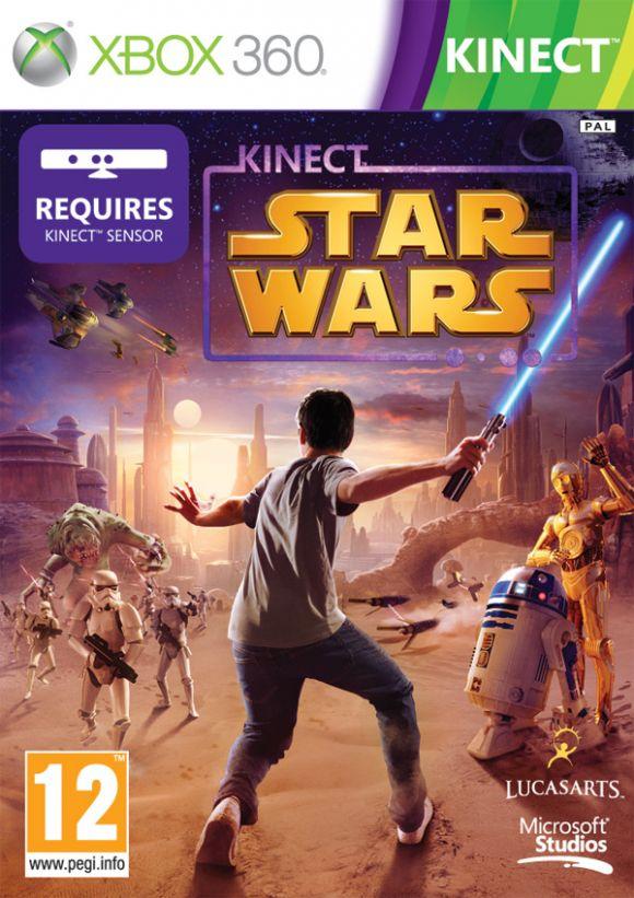 Carátula de Star Wars Kinect
