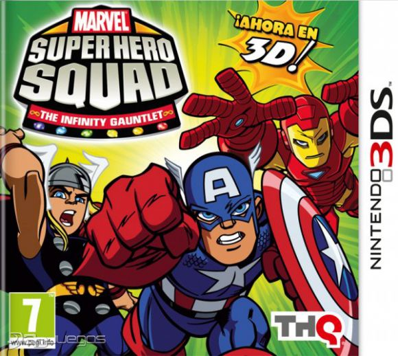 Carátula de Marvel Super Hero Squad