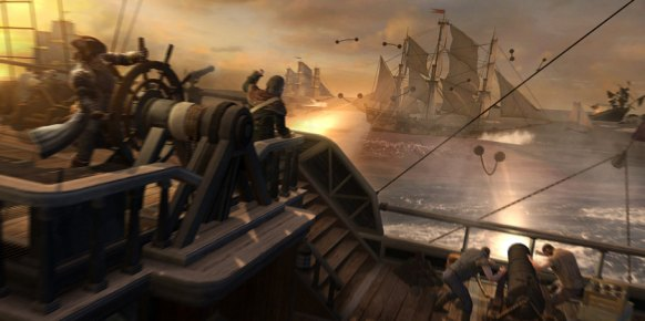 Assassin�s Creed 3: Impresiones Batallas Navales