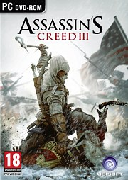 Cartula oficial de Assassins Creed 3 PC