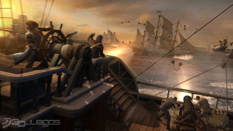 Assassin�s Creed 3 - Impresiones Batallas Navales