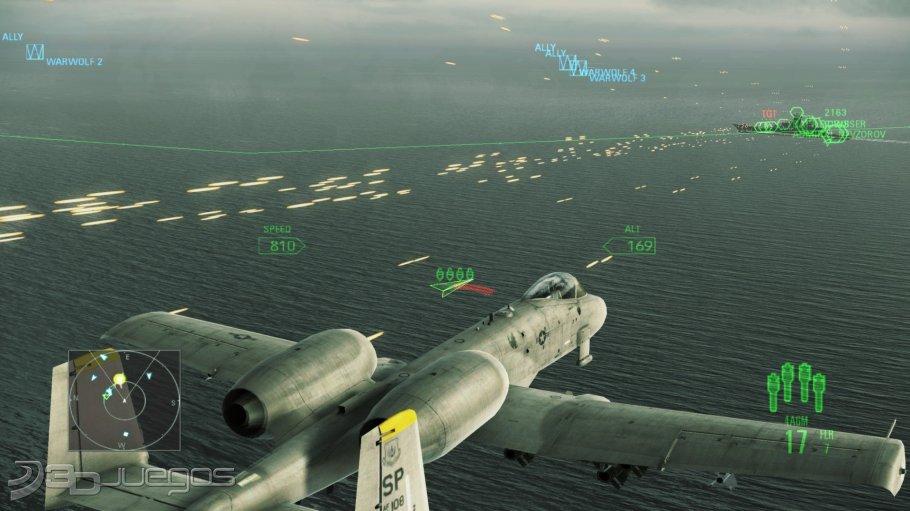 Ace Combat Assault Horizon - An�lisis