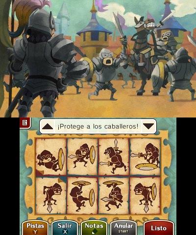 Profesor Layton vs Phoenix Wright 3DS