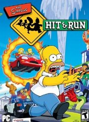 Car�tula oficial de The Simpsons: Hit & Run PC