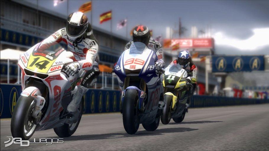 MotoGP 10/11 - Primer contacto