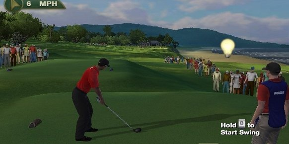 Tiger Woods PGA Tour 12 (Nintendo Wii)