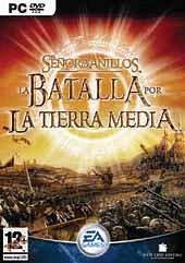 Car�tula oficial de El señor de los anillos: La batalla por la Tierra Media PC