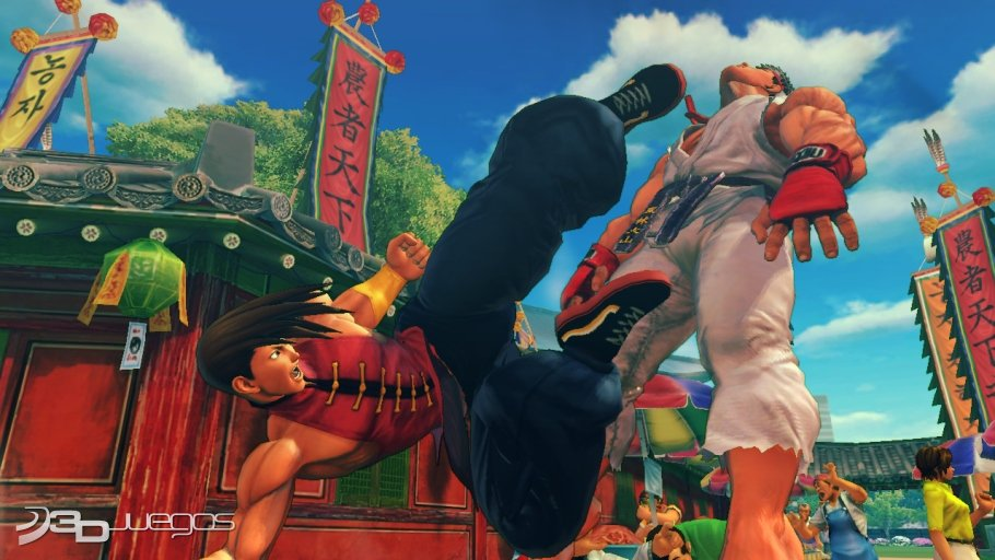 Super Street Fighter IV Arcade - Impresiones Captivate 2011