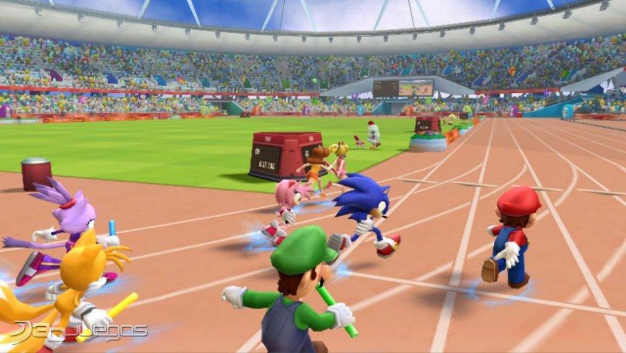 Mario y Sonic JJOO - London 2012 - An�lisis