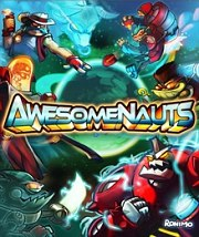 Car�tula oficial de Awesomenauts PC
