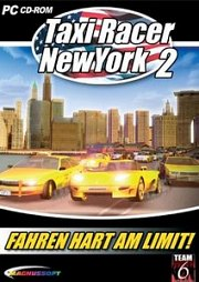 Cartula oficial de Taxi Racer New York 2 PC