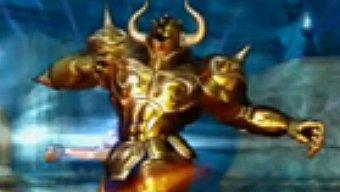 Video Saint Seiya: Batalla por el Santuario, Gameplay: Pegaso Contra el Caballero de Oro de Tauro