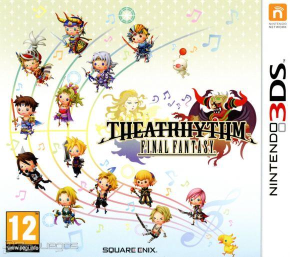 Carátula de Theatrhythm: Final Fantasy