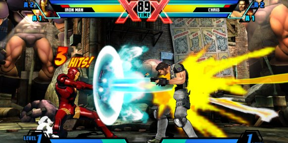 Ultimate Marvel vs. Capcom 3 Vita