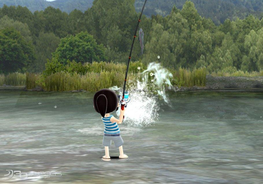 Fishing resort para wii 3djuegos for Fishing resort wii