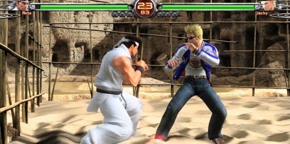 Virtua Fighter 5 Final Showdown an�lisis
