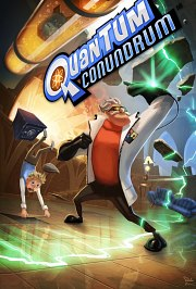 Cartula oficial de Quantum Conundrum PC