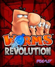 Car�tula oficial de Worms Revolution PC