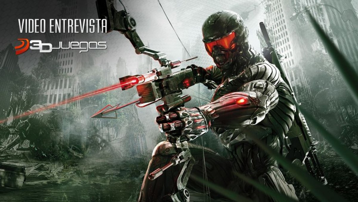 Video Crysis 3, Video Entrevista 3DJuegos - 3DJuegos