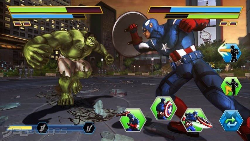 Anlisis de Los Vengadores Batalla por la Tierra para Wii U  3DJuegos