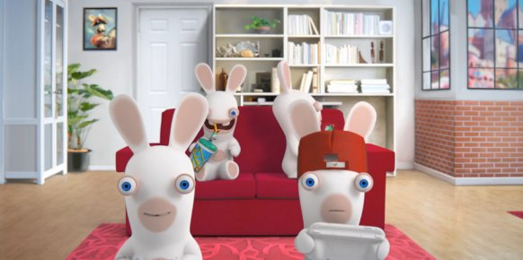 Rabbids LAND (Nintendo Wii U)