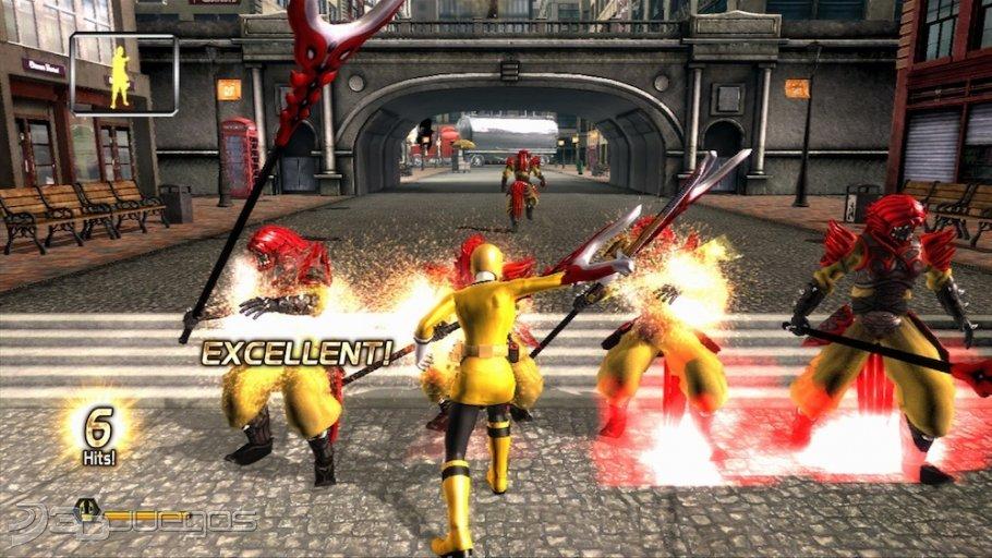 Imgenes de Power Rangers Super Samurai para Xbox 360  3DJuegos