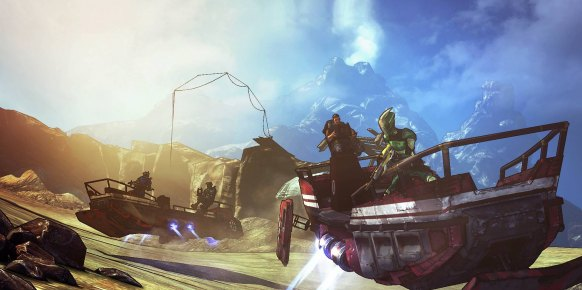 Borderlands 2 La Capitana Scarlett an�lisis