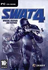 Car�tula oficial de SWAT 4 PC