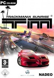 Car�tula oficial de TrackMania Sunrise PC