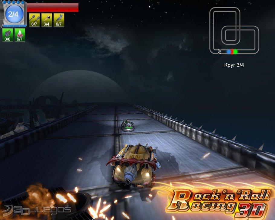 rocknroll racing 3d para pc 3djuegos