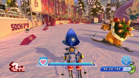 Mario y Sonic JJ.OO 2014 (Nintendo Wii U)