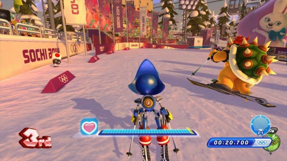 Mario y Sonic JJ.OO 2014 (Wii U)