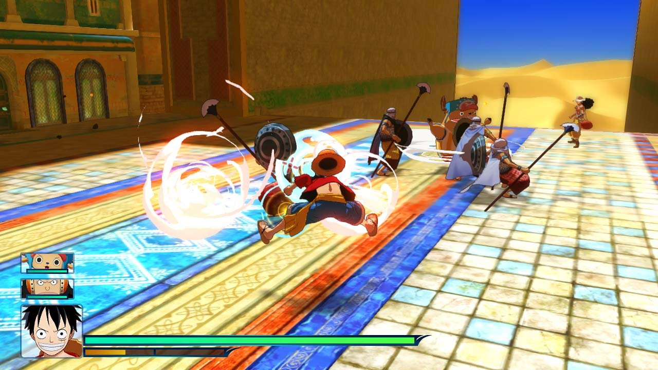 Resultado de imagen de one piece unlimited world red 3ds