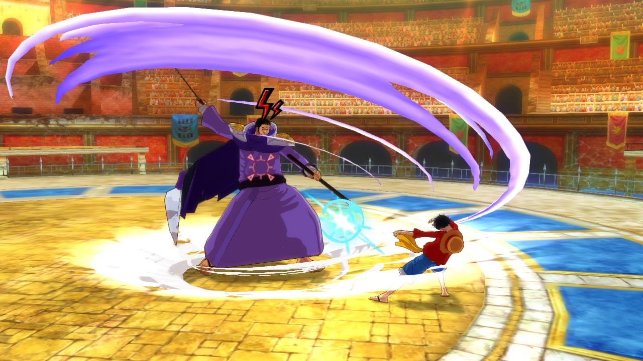 One piece unlimited world red impresiones jugables wii for One piece juego